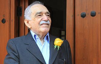Габриэль Гарсиа Маркес. Март 2014 года