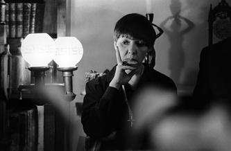 Поэтесса Белла Ахмадулина, 1987 год