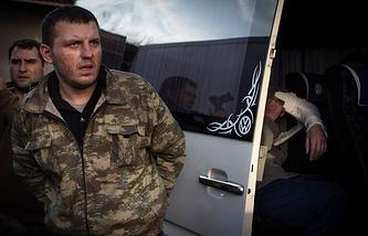 Обмен военнопленными между украинской армией и ополченцами ЛНР