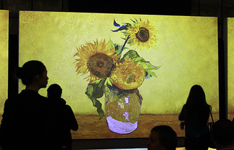 """На выставке """"Ван Гог. Ожившие полотна"""" (Van Gogh Alive)"""