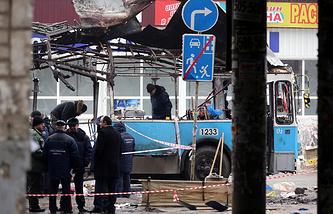 Теракт в троллейбусе в Дзержинском районе Волгограда, декабрь 2013 года