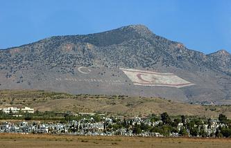 Кипр. Никосия. Горный хребет в северной части острова