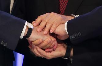 Соглашение о присоединении Армении к объединению России, Белоруссии и Казахстана было подписано в октябре 2014 года.