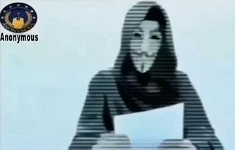 Видеоролик Anonymous с осуждением нападения на Charlie Hebdo