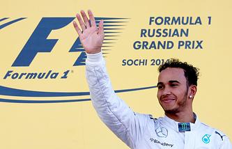 Льюис Хэмилтон - первый победитель Гран-при России