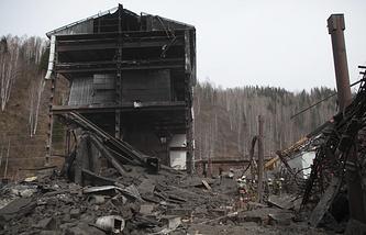 """После взрыва на шахте """"Распадская"""". Архив"""