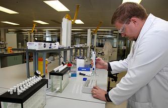 Работа антидопинговой лаборатории
