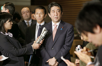 Премьер-министра Японии Синдзо Абэ
