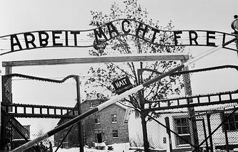 Освенцим, 1945 год
