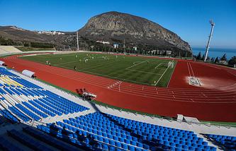 Стадион в Крыму