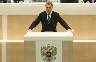 Первый вице-премьер Игорь Шувалов