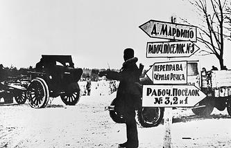 Прорыв блокады Ленинграда, 1943 год