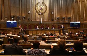 Архив. Заседание пленума Верховного суда Российской Федерации