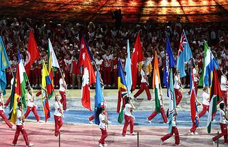 Церемония закрытия XXVII Всемирной летней Универсиады 2013 в Казани