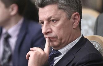 """Лидер фракции политической партии """"Оппозиционный блок"""" Юрий Бойко"""