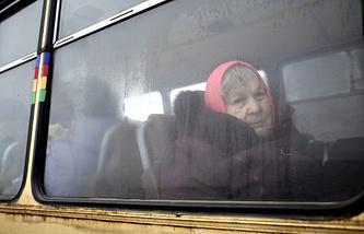 Эвакуация населения из Дебальцево