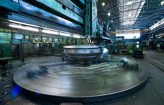 В одном из цехов Уральского турбинного завода