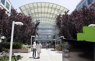 Штаб-квартира Apple в Купертино