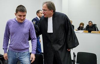 Заседание в суде Гааги по экстрадиции россиянина Владимира Дринкмана, обвиняемого в кибермошенничестве в США
