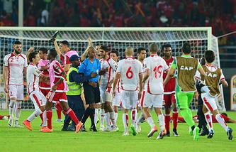 Инцидент после матча между сборными Туниса и Экваториальной Гвинеи