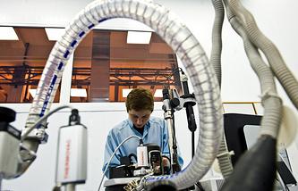 Работа нанотехнологической лаборатории в Курчатовском институте