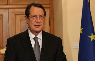 Президент Кипра Никос Анастасиадис