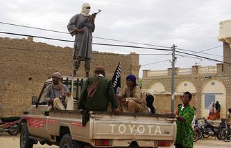 Боевики в городе Томбукту