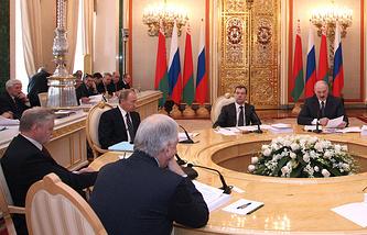 Заседание Высшего Государственного Совета Союзного государства, 3 февраля 2009 года