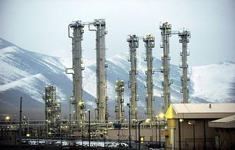 Реактор на тяжелой воде в городе Арак