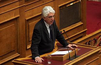 Министр юстиции Греции Никос Параскевопулос
