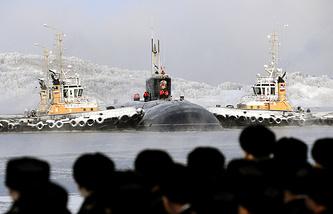 """Атомная подводная лодка """"Владимир Мономах"""""""