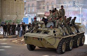 Вооруженные силы Йемена в Сане, 2011 год