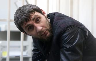 Заур Дадаев, главный обвиняемый  в убийстве Бориса Немцова