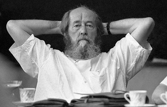 Александр Солженицын. 1994 год