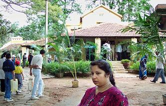 Дом-музей Рерихов около индийского города Бангалора