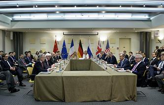 Переговоры по ядерной программе Ирана в Лозанне, 29 марта 2015 года