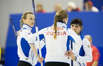 Керлингистки сурдолимпийской сборной России