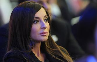 Супруга президента Азербайджана, член Исполкома Национального олимпийского комитета Азербайджана Мехрибан Алиева