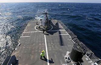 Военные учения НАТО в Черном море
