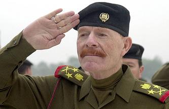 Иззат Ибрагим ад-Дури, 2002 год