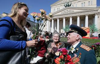 Празднования Дня Победы в Москве, 2014 год