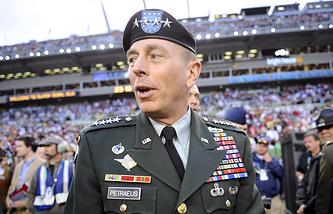 Генерал армии США Дэвид Петреус