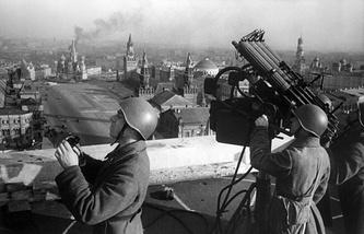 Москва, 1942 год
