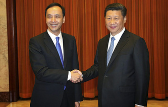 Эрик Чу и Си Цзиньпин