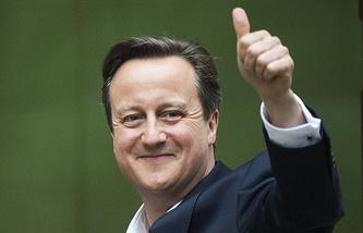 Лидер Консервативной партии Дэвид Кэмерон