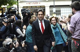 Лидер британских лейбористов Эд Милибэнд
