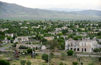 Нагорный Карабах. Агдам