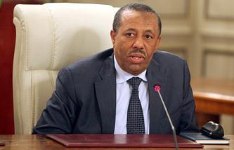 Премьер-министр Ливии Абдалла Абдуррахман ат-Тани