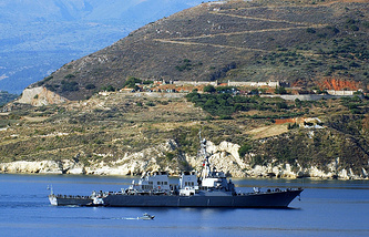 Эсминец ВМС США Ross