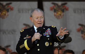 Председатель Комитета начальников штабов BC США генерал Мартин Демпси